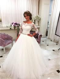 best simple wedding dresses quarter sleeves to buy buy new