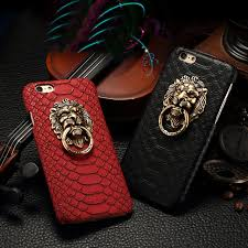 metal lion ring holder images Luxury 3d lion head metal ring holder stand phone cases snake jpg