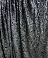 Grey Metallic Curtains Curtain Metallic Grey Silver Worn 6m X 3m Nz S