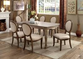 Transitional Dining Room One Allium Way Bloomingdale Transitional Dining Table Reviews