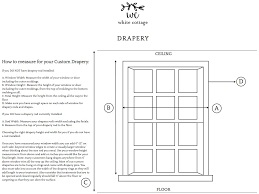 measurement guides u2013 white cottage