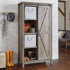 Board Game Storage Cabinet Better Homes And Gardens Modern Farmhouse Storage Cabinet Rustic