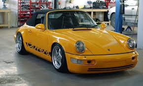 porsche 964 cabriolet porsche 964 u2013 das gelb u2013 automotive tuner