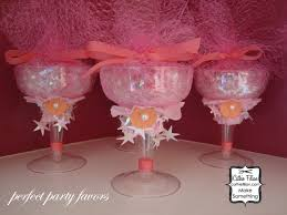 wine glass party favor cathie filian altered chagne glasses and juju bracelets