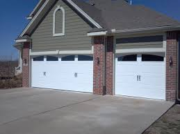 Royal Overhead Door Garage Doors With Arched Windows Moire Black Shingles And
