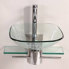 shop kokols usa polished chrome single vessel sink bathroom vanity