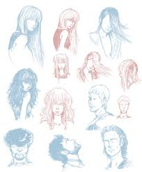 fashion hairstyle sketches fade haircut
