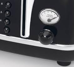 4 Slice Toaster Delonghi New Delonghi Cto4003bk Icona 4 Slice Toaster Ebay