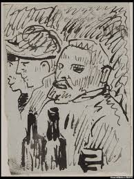 previously unknown sketch of vincent van gogh and both his ears