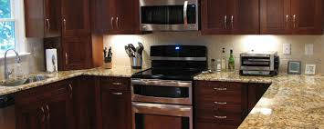 granite countertop white slab cabinets stainless and glass