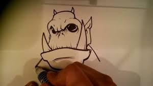 random monster easy things to draw youtube