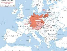 Historical Maps Of Europe by Map Of Europe 1936 1939