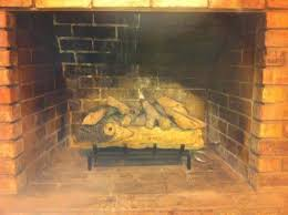 Convert Gas Fireplace To Wood by Wood Burning Fireplace Converted To Gas No Liner No Cap