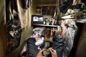 hong kong tiny apartments inside hong kong s insanely cred and illegal coffin homes