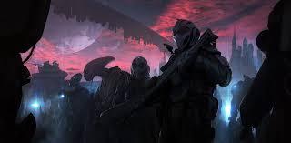 andree wallin space aliens futuristic sky artwork fantasy