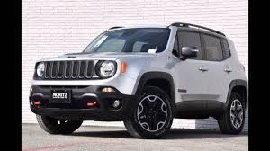 gray jeep renegade 2016 jeep renegade glacier metallic youtube