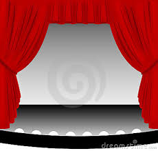 Curtains On A Stage Red Stage Curtains Blinds Shades Curtains