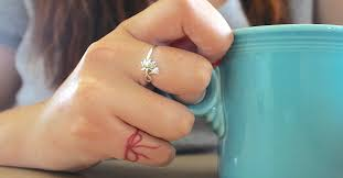 tattoo on finger bow couples tattoo red strings on their pinky fingers as a secret way to