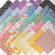 1930s feedsack repro quilt fabric charms 30 4 inch squares all