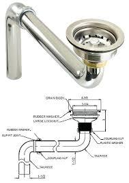 Kitchen Sink Plumbing Parts Kitchen Sink Drain Plumbing Parts Photo 7 With Regard To Ideas 12