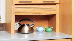appliance cabinets kitchens kitchen appliance cabinet roller door upandstunning club