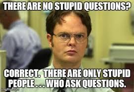 Meme Questions - dwight schrute meme imgflip