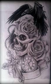 tattoofinder com rose rosary tattoo design by edward lee black