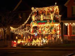 Decorating The Home For Christmas by Christmas Decorated Homes Crazy Outdoor Christmas Lights At