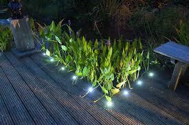 8 led decking lights 12v electric low voltage garden deck