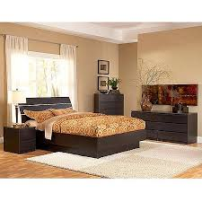 south shore maddox dresser chest and nightstand set in pure black