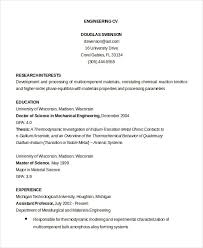 Sample Resume For Diploma In Mechanical Engineering by Cv Template 20 Free Word Pdf Documents Download Free