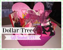 2016 dollar tree valentine u0027s day gift basket youtube