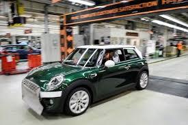 bmw car plant exclusive bmw favors uk plant to build electric mini sources