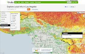 Google Maps Los Angeles Ca by Mapping Traffic Volume On Every Street In America Trulia U0027s Blog