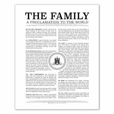family proclamation temple st family proclamation in family proclamation