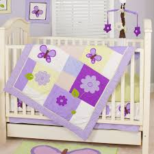 Butterfly Nursery Bedding Set by Pam Grace Creations 10 Piece Crib Bedding Set Lavender Butterfly