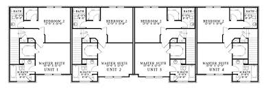three plex floor plans laboure european fourplex home plan 055d 0404 house plans and more