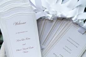 wedding program fan kits wedding program fans weddings do it yourself wedding forums