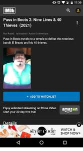 1730 imdb puss boots 2 lives u0026 40 thieves 2021 rated