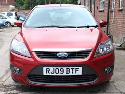 2009 ford focus zetec 100 burgundy 1 6 petrol 5 speed ac 5 dr full