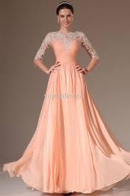 sale myriam fares prom dresses sheer lace applique 3 4 long