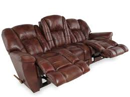 Reclining Leather Chair La Z Boy Maverick Mahogany Leather Reclining Sofa Mathis