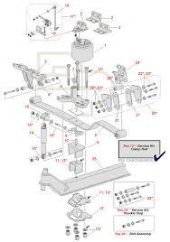 volvo truck parts diagram volvo hendrickson steertek front schematic standard spring