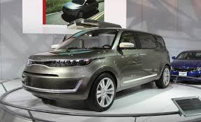 bmw minivan concept kia kv7 concept kia news u2013 car and driver