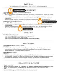 example ng resume sales how to create the perfect sales resume example sales resume workexperience