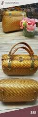 wicker basket with leather handles the 25 best wicker baskets with handles ideas on pinterest