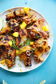 chicken wings with mango chili sauce lexi u0027s clean kitchen