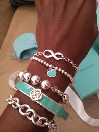 silver bead bracelet with heart images Return to tiffany mini heart tag in sterling silver on a bead jpg