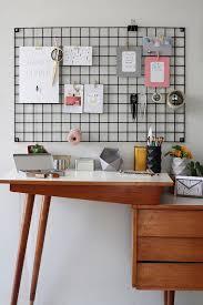 Desk Wall Organizer Black Wire Wall Organizer Iron Mesh Moodboard Office Wall