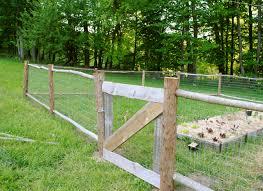 Fence Ideas For Garden The Building A Garden Fence Part 2
